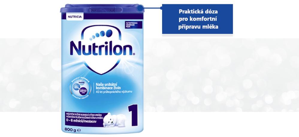 Nutrilon praktická doza