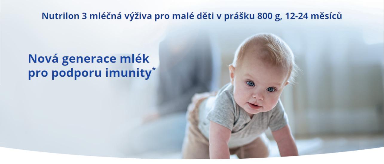 Nutrilon 3 nová generace mlék
