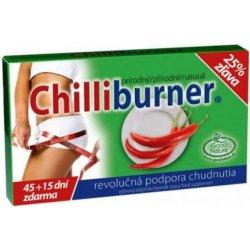 Chilliburner podpora hubnutí tablety 45 + 15 zdarma