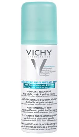 Vichy Sprej antiperspirant s 48h účinkem, který nezanechává stopy na oblečení 125ml