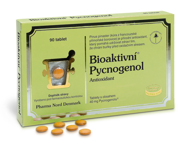 Bioaktivní Pycnogenol 90 tablet