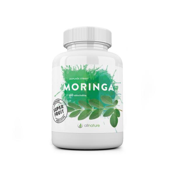 Allnature Moringa tablety 60 tablet