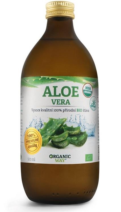 Aloe vera Bio 100% šťáva premium quality 500ml