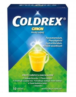 Coldrex Horký nápoj Citron 10 sáčků