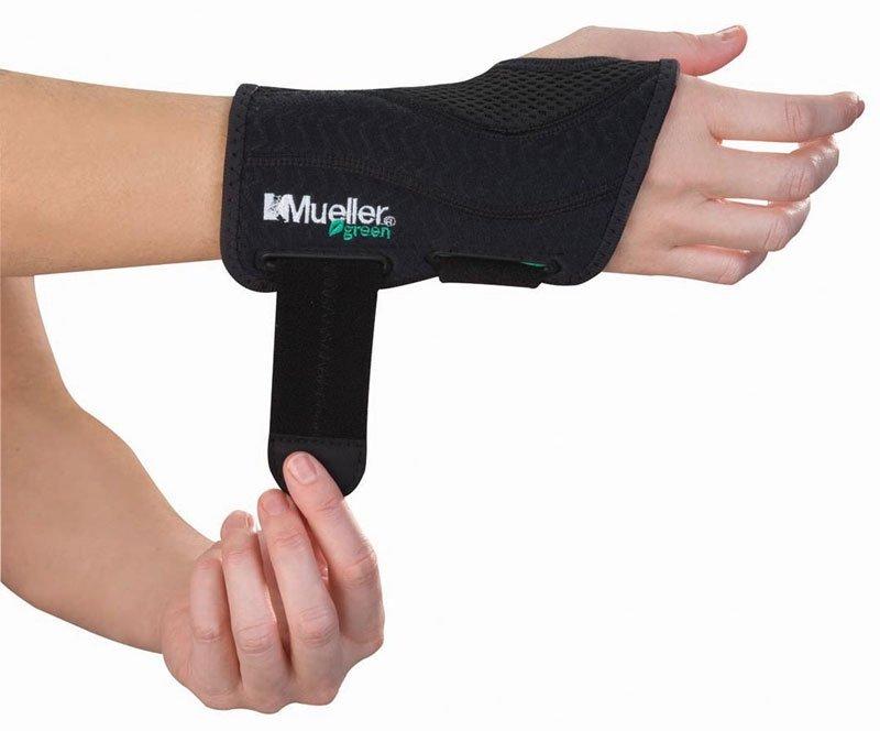 Mueller Green, Fitted Wrist Brace, Ortéza na zápěstí - L/XL levá