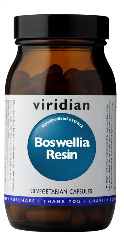 Viridian Boswellia Resin 90 kapslí