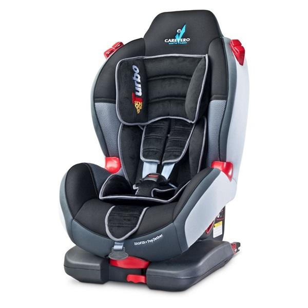 Autosedačka CARETERO Sport TurboFix graphite