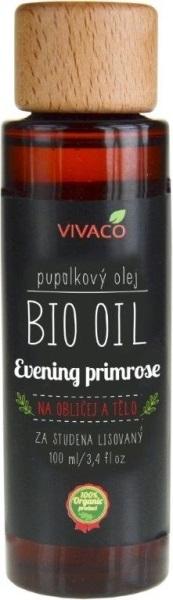 Vivaco Pupalkový olej BIO 100ml