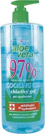 Aloe Vera 97 % chladivý gel po opalování 500ml