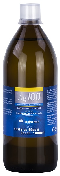 Koloidní stříbro Ag100 40ppm 1000ml