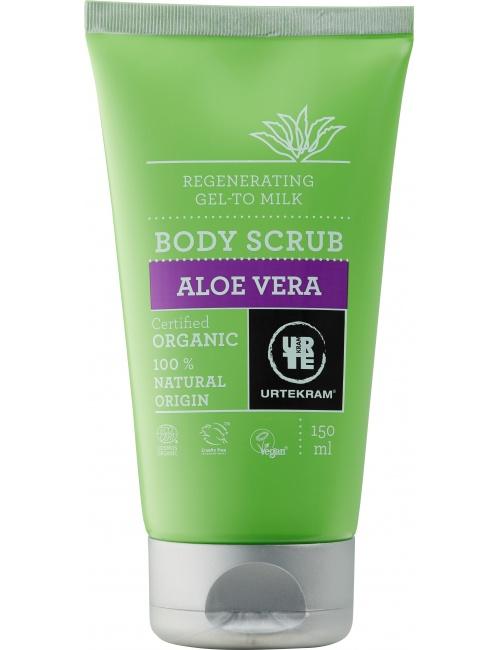 Tělový peeling aloe vera 150 ml BIO, VEG