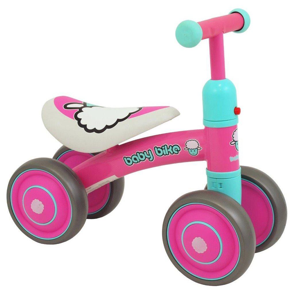Dětské odrážedlo Baby Mix Baby Bike pink