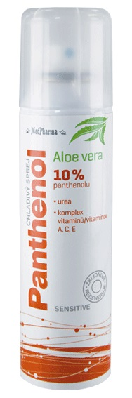 MedPharma Panthenol 10% Sensitive chladivý sprej 150ml