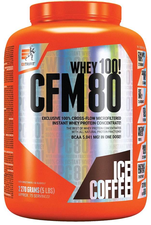 Extrifit CFM Instant Whey 80 2,27kg ledová káva