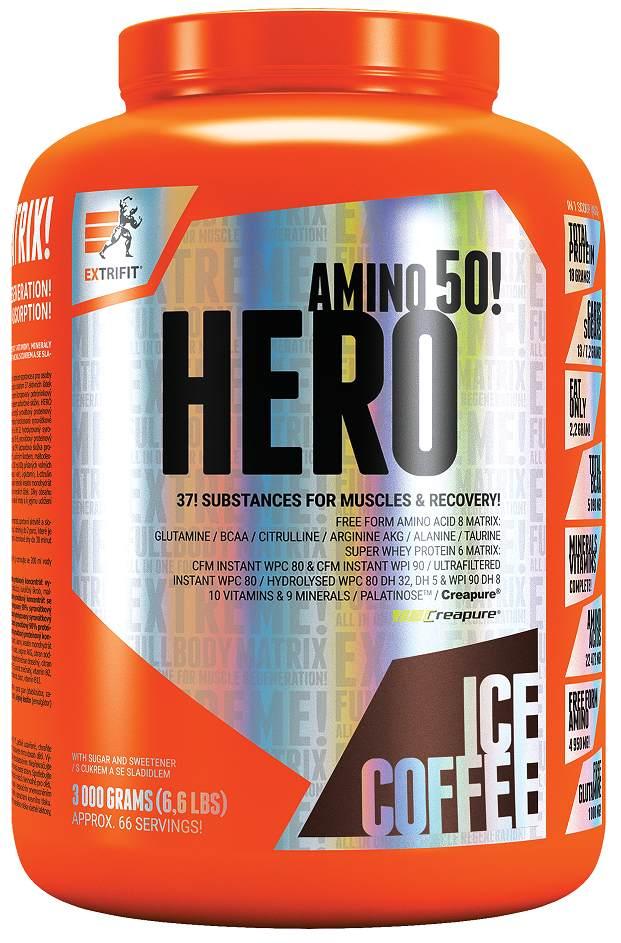 Extrifit Hero ledová káva 3000g