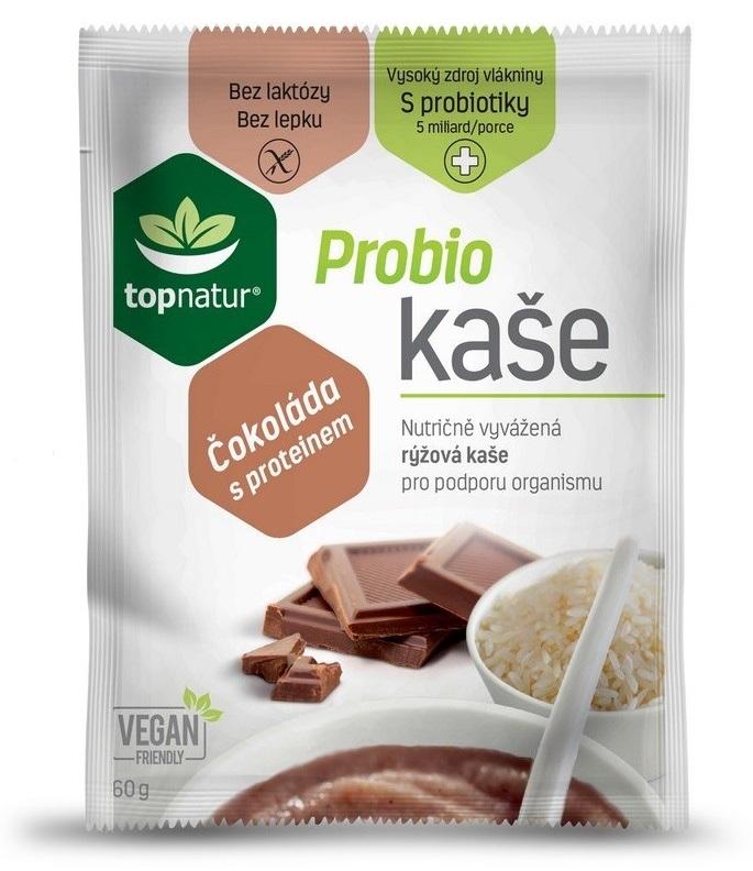 Topnatur Probio kaše protein s čokoládou 60g