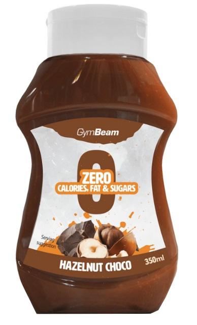 GymBeam Hazelnut Choco 350 ml hazelnut chocolate