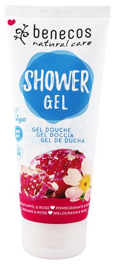 Sprchový gel granátové jablko a růže BIO VEG 200ml