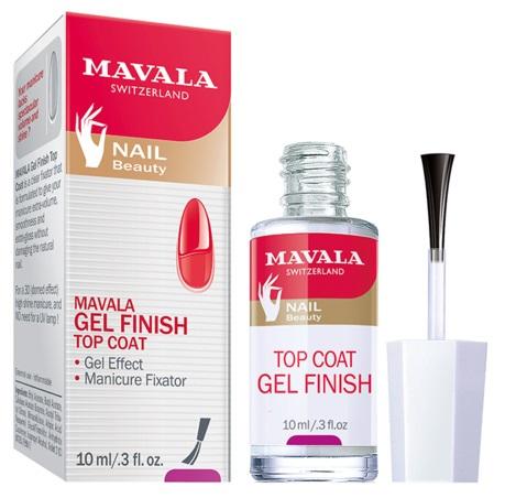 MAVALA Gel Finish nadlak pro efekt gelových nehtů 10ml