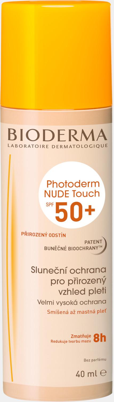 BIODERMA Photoderm NUDE Touch přirozený SPF 50+ 40ml