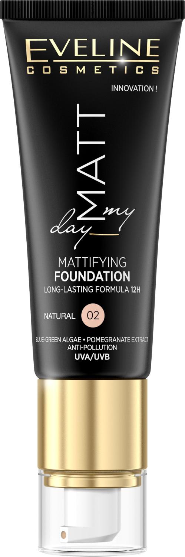 Eveline Matt My Day - matující make-up - 02 Natural 40ml