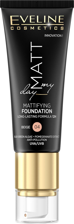 Eveline Matt My Day - matující make-up - 04 Beige 40ml