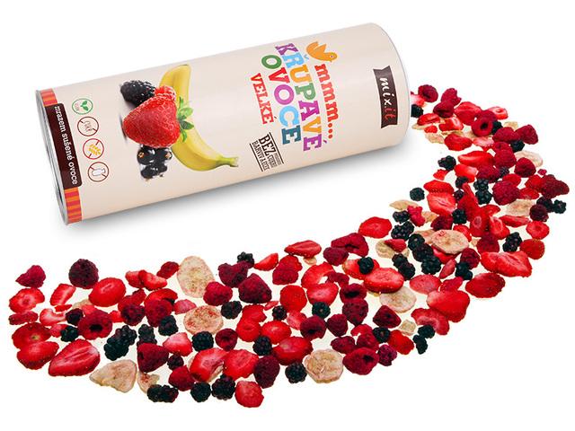 Mixit  II. jakost Velké křupavé ovoce 150g