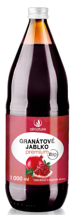 Allnature Granátové jablko Premium BIO 1000ml