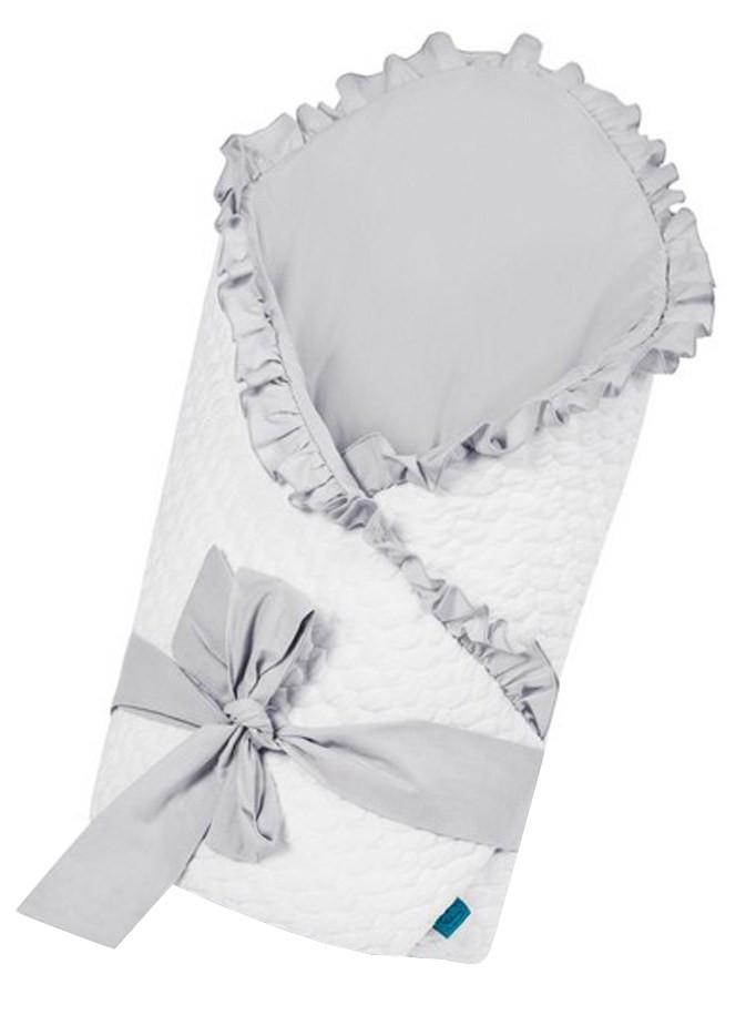 Belisima Zavinovačka s mašlí Králíček bílo-šedá