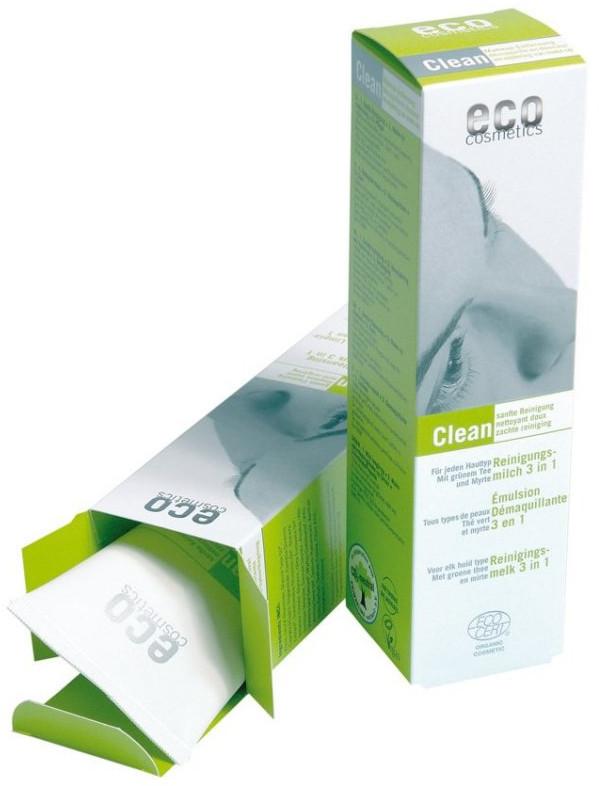 Eco Cosmetics Čistící mléko 3v1 125ml