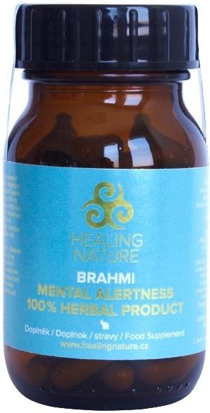 Healing Nature Brahmi pro duševní zdraví, paměť a kognici 60 kapslí