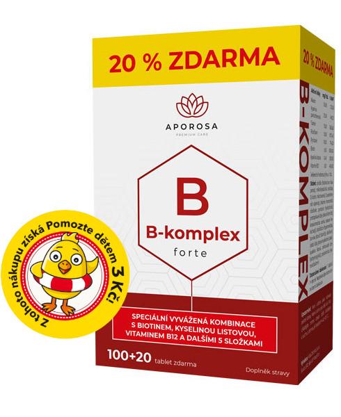 APOROSA prémiový B-komplex forte 120 tablet