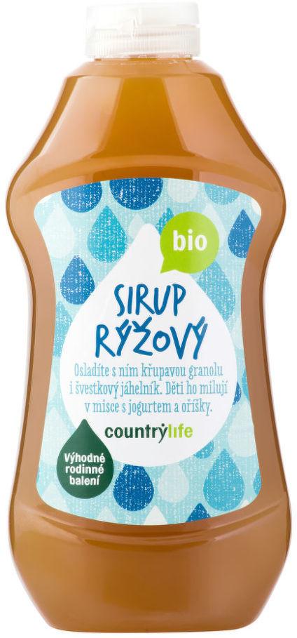 Country Life Sirup rýžový BIO 874ml