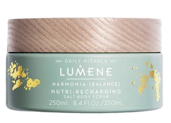 Lumene HARMONIA Solný tělový peeling(Nutri-Recharging Salt Body Scrub) 250ml
