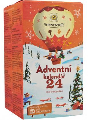 Sonnentor  Bio Adventní kalendář koření 24 druhů 116g
