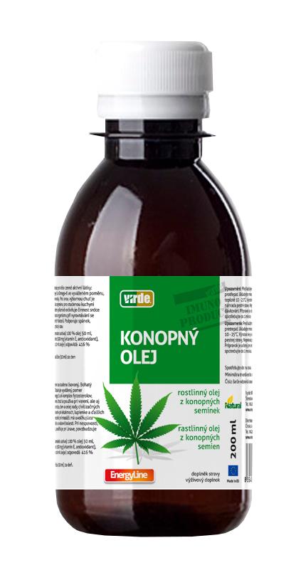 Virde Konopný olej 200ml
