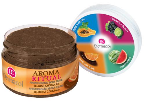 Dermacol Aroma Ritual - peeling Belgická čokoláda 200g