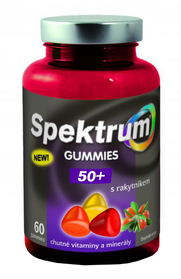 Walmark Spektrum Gummies 50+ s rakytníkem 60 tablet