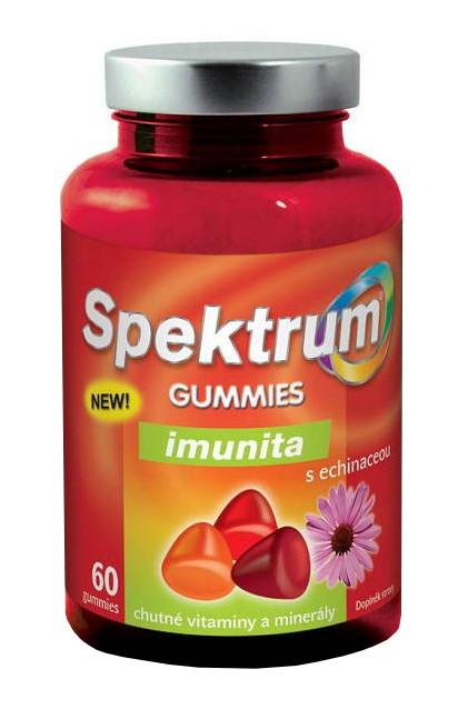 Walmark Spektrum Gummies Imunita s echinaceou 60 žvýkacích tablet
