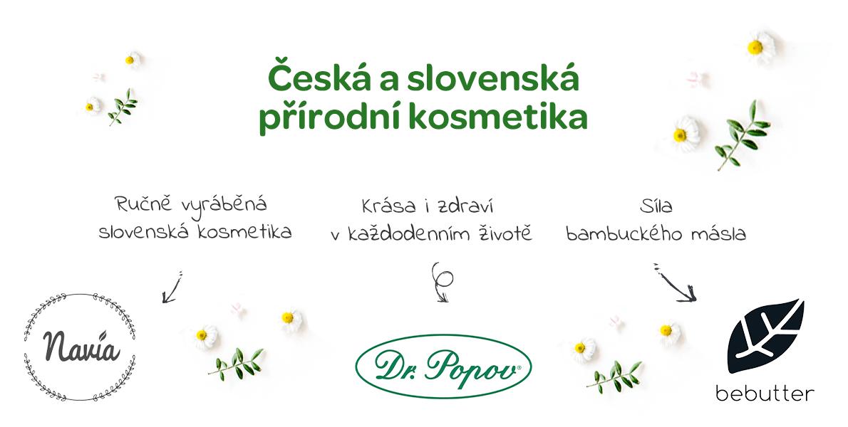 česká a slovenská přírodní kosmetika