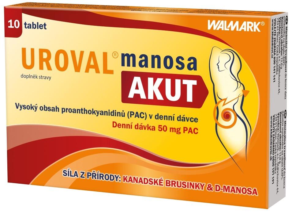 Walmark Uroval MANOSA AKUT 10 tablet
