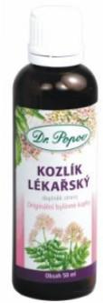 Dr.Popov Kozlík lékařský originál bylinné kapky 50ml