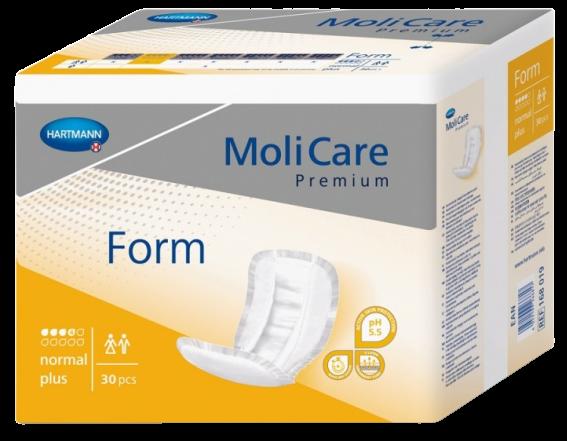 MoliCare Inkontinenční vložná plena Form Normal Plus 30ks