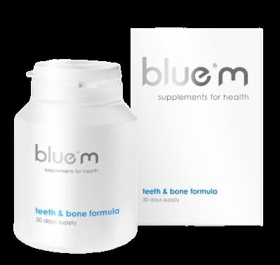 blue®m Vitaminy pro zuby & kosti 90 kapslí