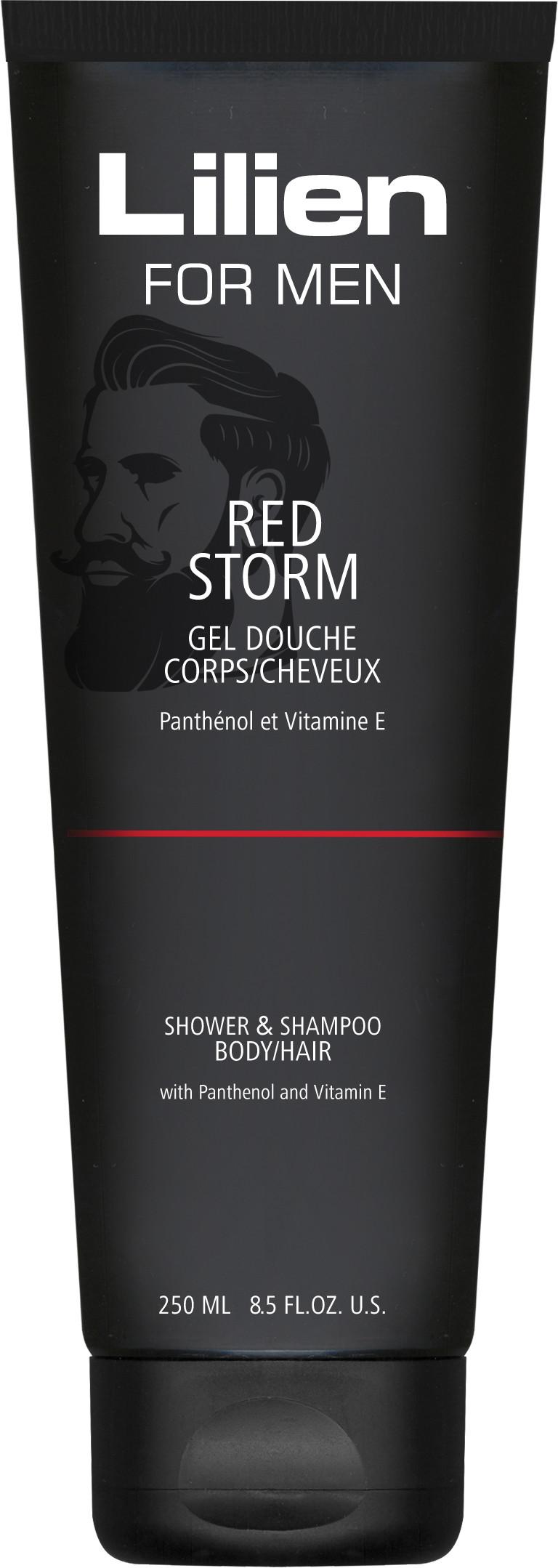 Lilien for men shower gel Red Storm 250ml