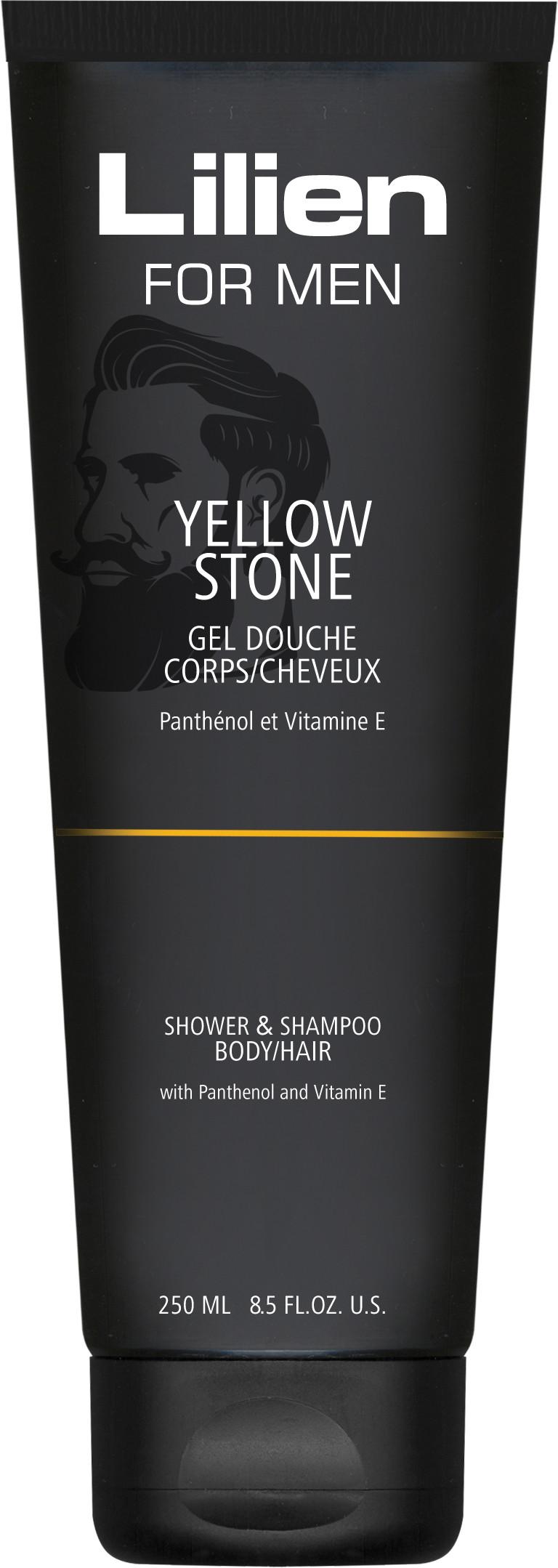 Lilien for men shower gel Yellow Stone 250ml