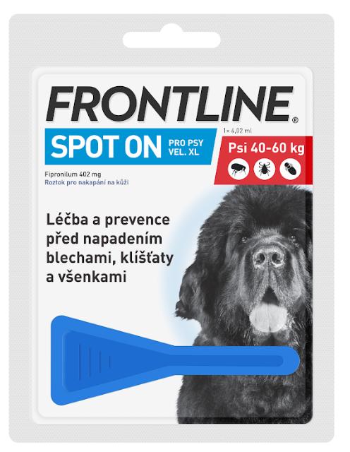 Frontline Spot On Dog XL 40-60kg, Pipeta 4,02ml
