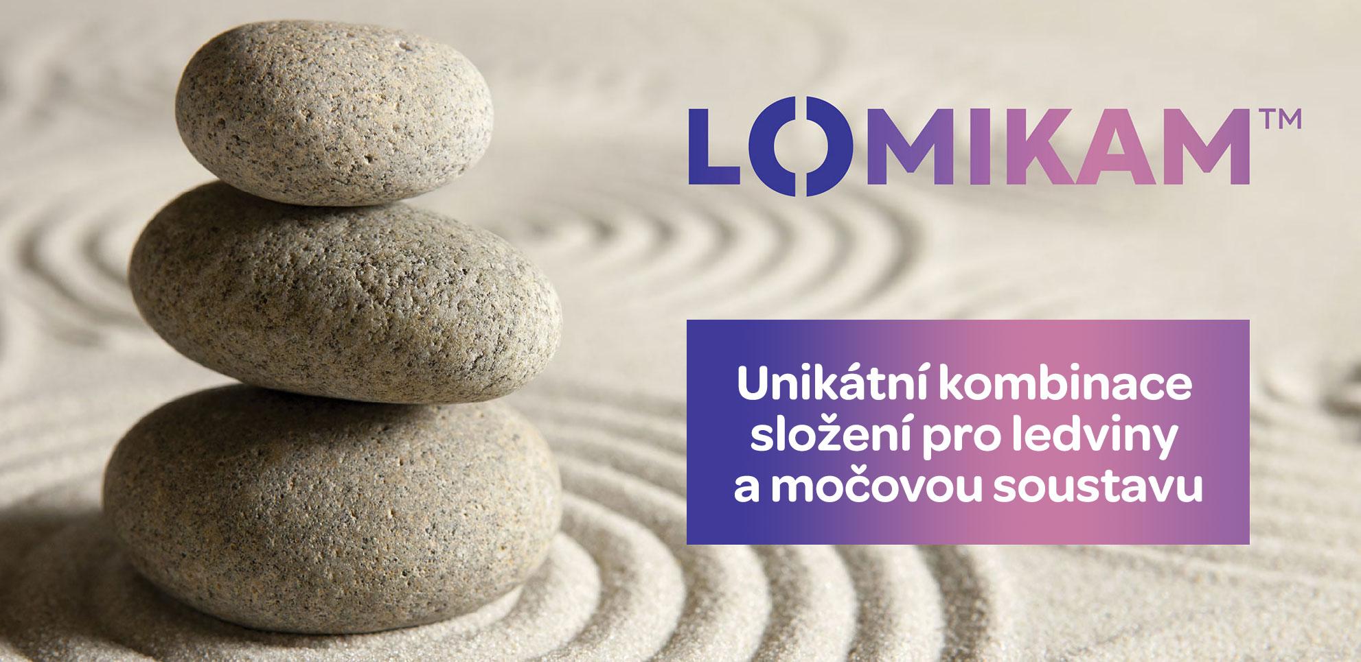 Lomikam, unikátní kombinace pro močový měchýř a ledviny