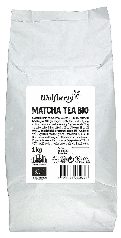 Wolfberry Matcha čaj BIO 1000g