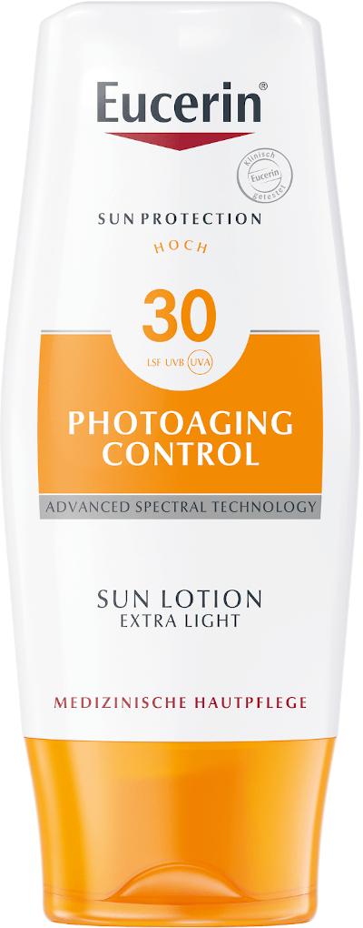 Eucerin Sun opalovací mléko Photoaging SPF30 150ml
